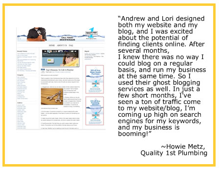 blog writing and ghost blogging services - helping you write copy for your blogs