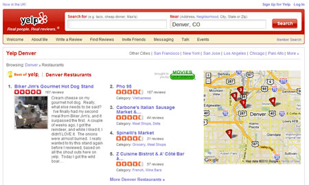 Yelp for small business marketing
