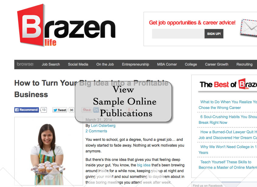 Online Article Sample